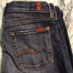 7 For All Mankind Jeans - 7 for all mankind great super-soft jeans & fit EUC
